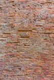 De rode achtergrond van de bakstenen muurtextuur grunge, rode bakstenen muurbackgro Royalty-vrije Stock Fotografie