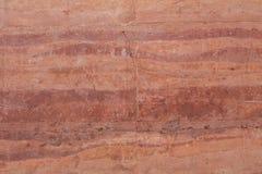 De rode achtergrond van de grondmuur Stock Foto's