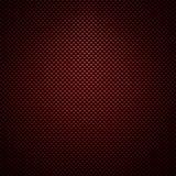 De rode achtergrond van de koolstofvezel Royalty-vrije Stock Afbeeldingen