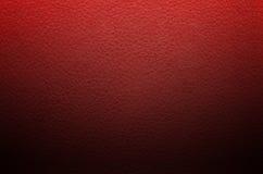 De rode achtergrond van de leertextuur Stock Foto