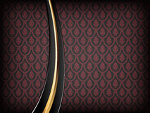 De rode Achtergrond van de Luxe Royalty-vrije Stock Foto's