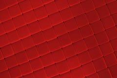 De rode Achtergrond van de Tegel Stock Afbeelding