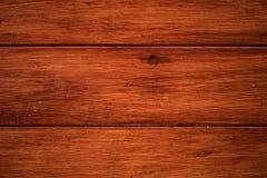 De rode achtergrond van de eiken houttextuur Hoogste mening royalty-vrije stock foto