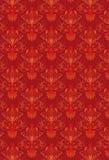 De rode Achtergrond van het Patroon royalty-vrije illustratie