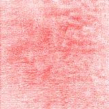 De rode achtergrond van het textuur oude canvas Stock Fotografie