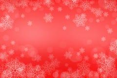 De rode achtergrond van Kerstmis Stock Afbeelding
