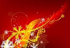 de rode achtergrond van Kerstmis Royalty-vrije Stock Foto