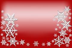 De rode achtergrond van Kerstmis Stock Foto