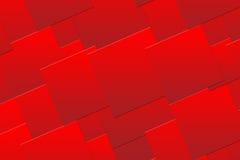 De rode Achtergrond van Vierkanten Royalty-vrije Stock Afbeeldingen
