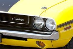 De rode Amerikaanse Auto van de Spier Stock Foto