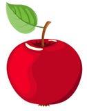 De rode appel. Stock Foto's