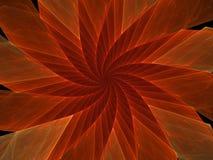 De rode Bloem van de Spinner Royalty-vrije Illustratie