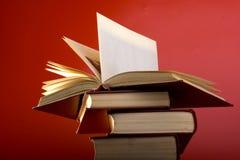 De rode Boeken Stock Foto