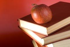 De rode Boeken Stock Afbeelding
