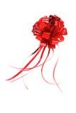 De rode Boog van de Gift Royalty-vrije Stock Foto's
