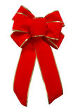 De rode boog van het Fluweel Stock Afbeelding