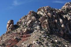 De rode Canion van de Rots in Las Vegas Royalty-vrije Stock Fotografie