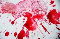 De rode close-up van de sapplons op witte achtergrond Rode wijn Royalty-vrije Stock Fotografie