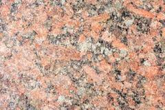 De rode close-up van de granietplak stock afbeeldingen