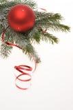De rode decoratie van Kerstmis Royalty-vrije Stock Fotografie