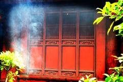 De rode Deuren van de Tempel Royalty-vrije Stock Afbeelding