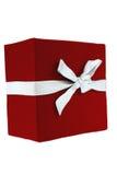 De rode Doos van de Gift Royalty-vrije Stock Foto