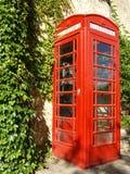 De rode Doos van de Telefoon Royalty-vrije Stock Afbeelding