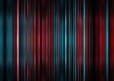 De rode en blauwe achtergrond van het motieonduidelijke beeld Stock Foto