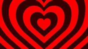 De Rode en Donkerrode harten van uitstekende kwaliteit voor de Dag van Valentine ` s royalty-vrije illustratie