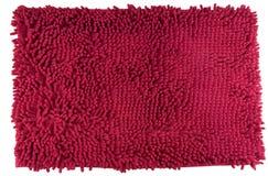 De rode geïsoleerde kleur van de voetschraper Royalty-vrije Stock Foto