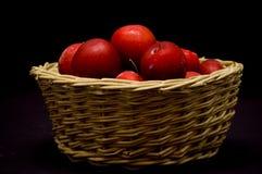 De rode gedroogde pruimen Royalty-vrije Stock Afbeelding