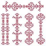 De rode Grenzen van het Hart Vector Illustratie
