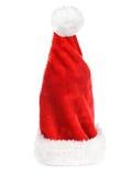 De rode hoed van de kerstman Royalty-vrije Stock Fotografie