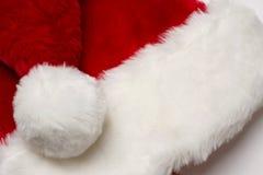 De rode hoed van de Kerstman Stock Afbeelding