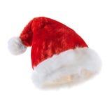 De rode hoed van Santa Claus Royalty-vrije Stock Foto's