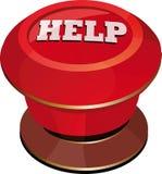 De rode hulp van de knevelschakelaar Royalty-vrije Stock Fotografie