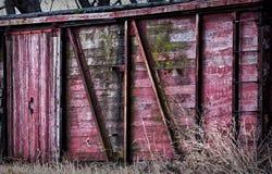 De rode Kant van de Schuur Stock Foto's