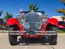 De rode klassieke auto van Packard van 1929 Stock Fotografie