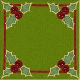 De rode Knopen van de Hulst van het Lovertje Royalty-vrije Stock Afbeelding