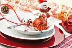 De rode lijst van Kerstmis royalty-vrije stock afbeeldingen