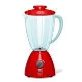 De rode mixer Royalty-vrije Stock Afbeeldingen