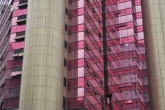 De rode moderne bouw Royalty-vrije Stock Afbeeldingen