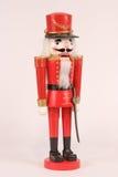 De rode Notekraker van Kerstmis Royalty-vrije Stock Afbeelding