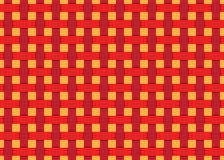 De rode oranje moderne futuristische achtergrond van het lijnen naadloze patroon Vector illustratie vector illustratie