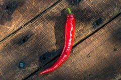 De rode Peper van de Spaanse peper Royalty-vrije Stock Afbeeldingen