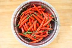 De rode Peper van Spaanse pepers Royalty-vrije Stock Afbeelding