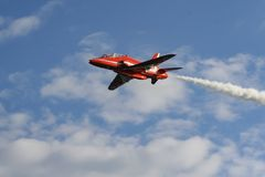 De Rode Pijl van Royal Air Force Stock Afbeeldingen