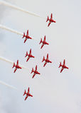 De rode Pijlen Royalty-vrije Stock Foto