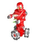 De rode robot Royalty-vrije Stock Afbeeldingen