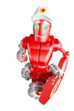 De rode robot Stock Foto